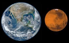 Earth mars