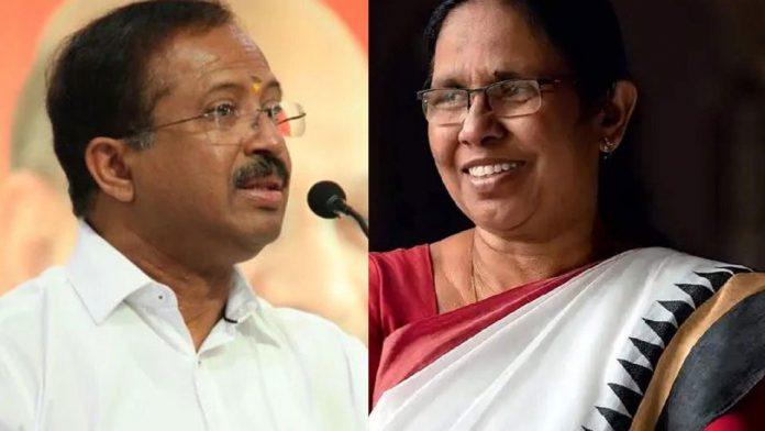 v muraleedharan about health minister